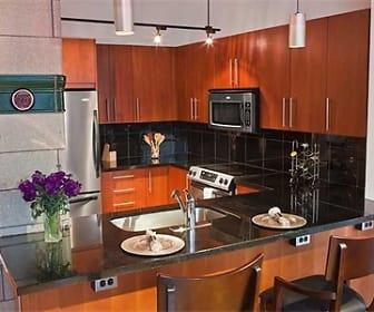 Kitchen, Lucky Strike Lofts