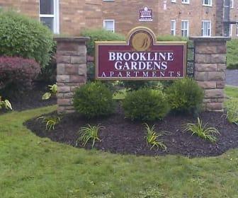 Brookline Gardens, Memorial Junior High School, Cleveland, OH