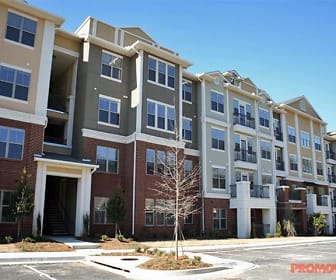 Building, Park at Johns Creek Senior Residences