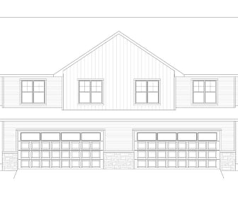 Rendering, Townhouses on Faith Court