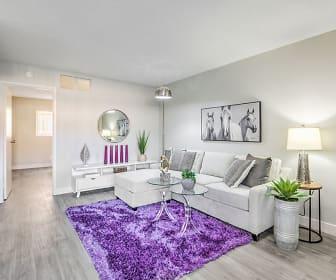 Living Room, Wyandotte Apartments