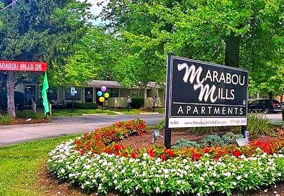 Marabou Mills, Indianapolis, IN
