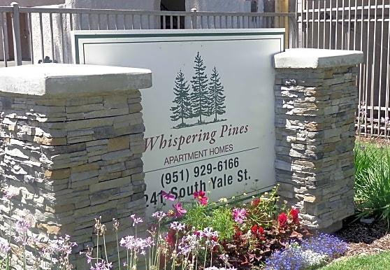 Whispering Pines, Hemet, CA