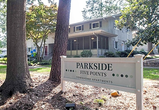 Parkside Five Points Townhome Apartments, Raleigh, NC