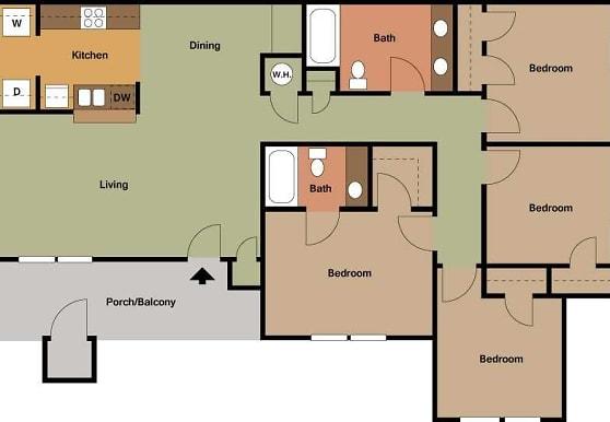 Chapel Ridge of ndon Apartments - ndon, MS 39042 on casa grande floor plan, zachary floor plan, bonita floor plan, brookhaven floor plan, oak alley floor plan, brenham floor plan,