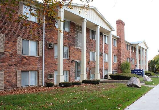 Wagon Wheel Apartments, Royal Oak, MI