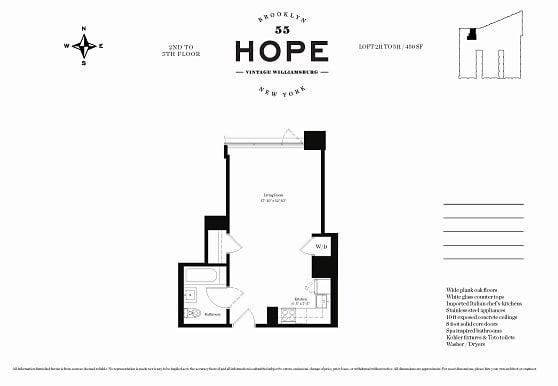 55 Hope St 511, Brooklyn, NY