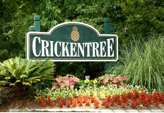 view of community sign, Crickentree