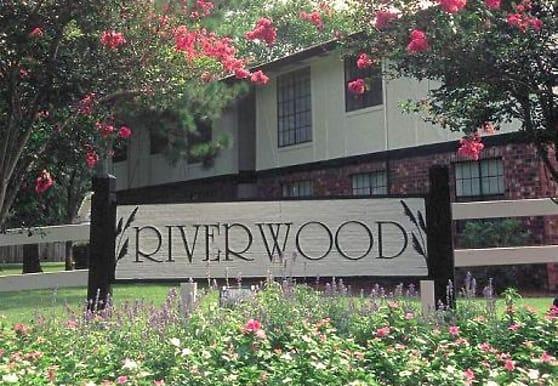 view of community / neighborhood sign, Riverwood Apartments