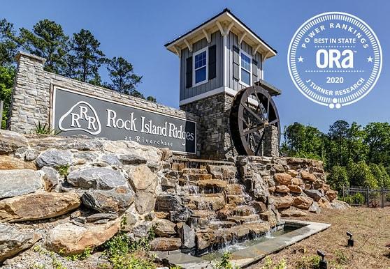 view of community / neighborhood sign, Rock Island Ridges at Riverchase