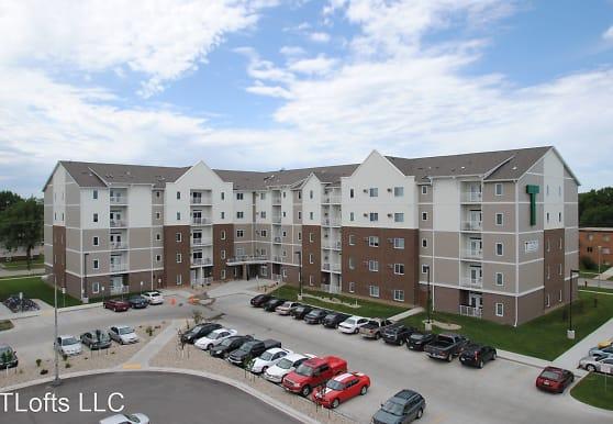 view of building exterior, T-Lofts Apartments