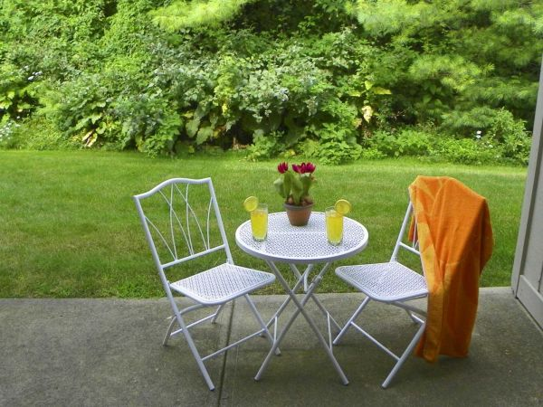 Nice Wooded View from Your Patio or Balcony