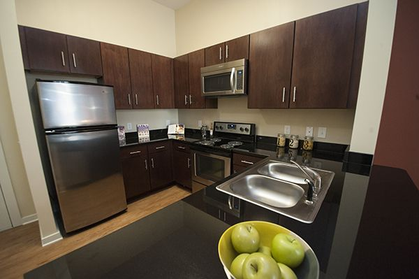 Designer cabinets, granite countertops and energy efficient lighting in every home