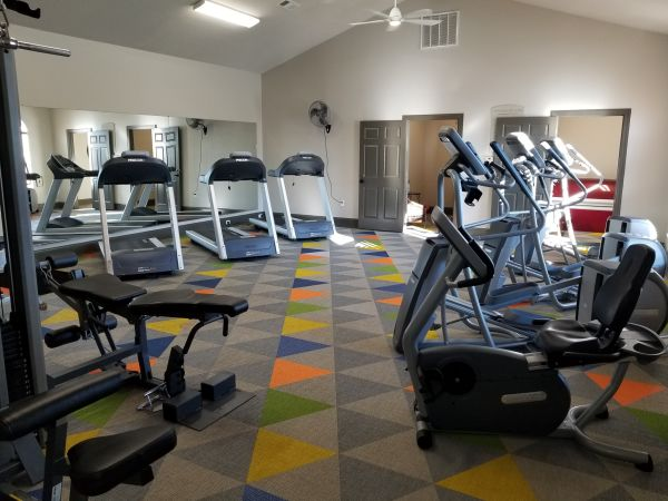 24-hour Fitness Center and Tanning Salon