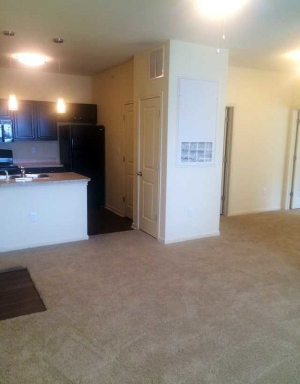 Spacious open layouts!